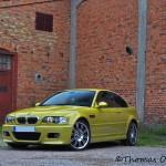 Min phoenixgula BMW M3